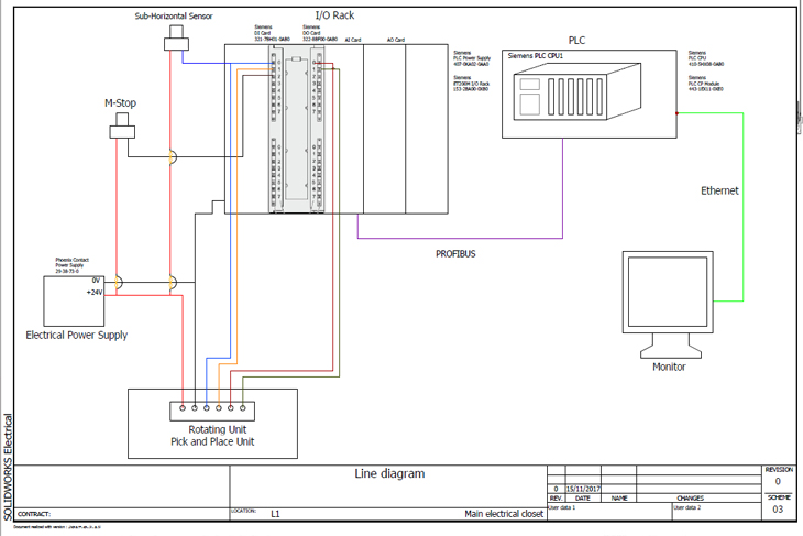 House Wiring Plan Drawing
